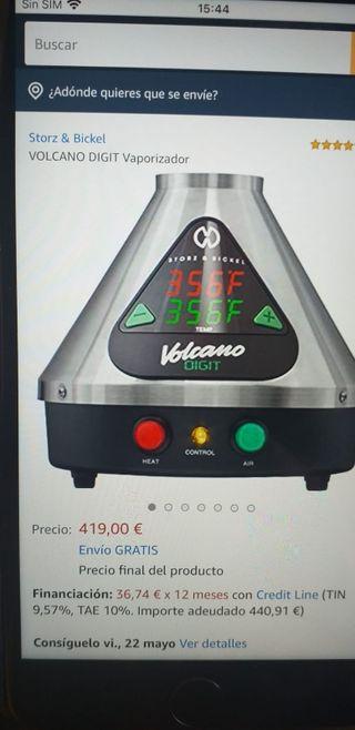 vaporizador volcano