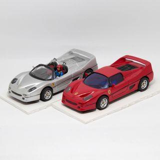 Lote 2 Ferrari F50 maquetas convertidas Scalextric