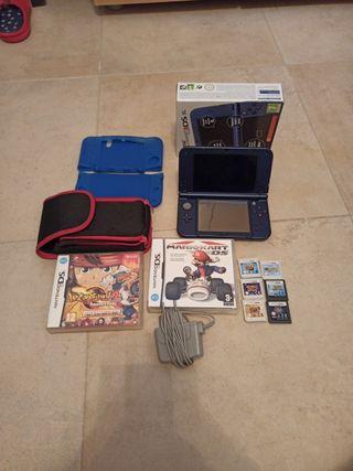 lote New Nintendo 3Ds XL + juegos y accesorios