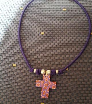 Colgantes con cruz