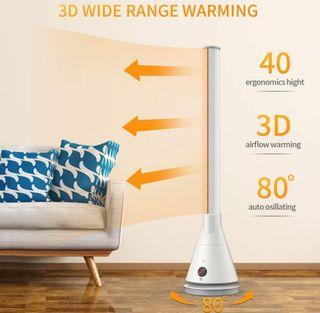 Calefactor de Aire Caliente Y FRIO Ceramico 2000W