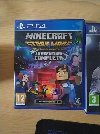 FIFA 18 y 19 + Minecraft Story Mode