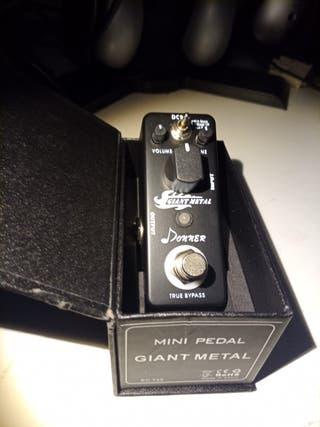 Pedal Donner Giant Metal