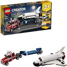 Lego creator transporte de la lanzadera.