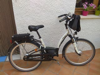 Bici paseo eléctrica B'twin Elops