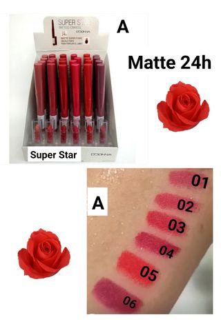 Super Star Matte Crayon 24h