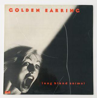 GOLDEN EARRING: Long blond animal Disco Vinilo Lp
