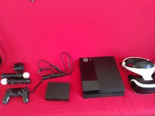 PS4 con psvr y mandos move