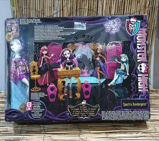 juguete nuevo precintado monster high dj discoteca