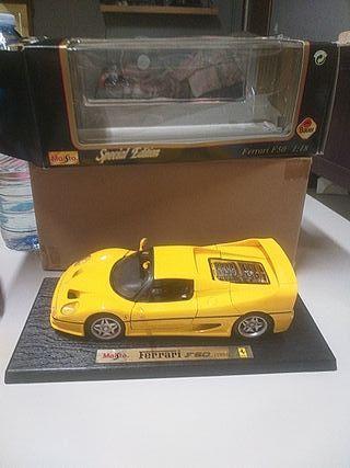 1/18 maqueta Ferrari F50