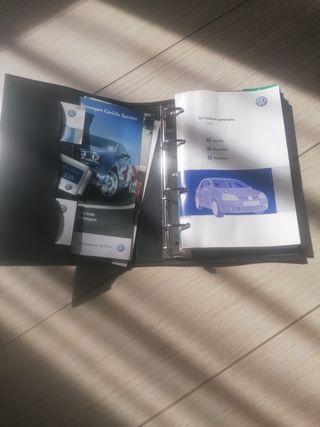 Manual instruciones Golf 5