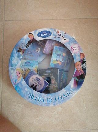 Rueda de 8 mini cuentos de Frozen