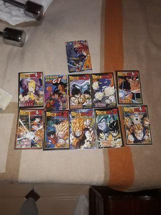 26 comics de Dragon ball como nuevos.