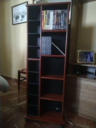 Mueble para CD's y películas