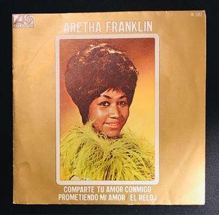 ARETHA FRANKLIN Disco Vinilo Single
