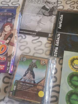 juego cartas Naruto