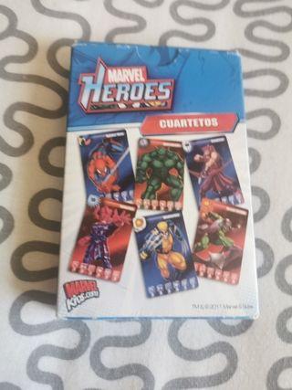 baraja cartas Heroes Marvel
