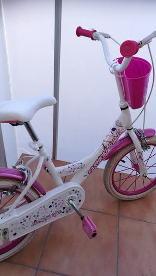 bicicleta niña talla 16 pulgadas