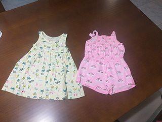 ropa niña verano 6-9 meses