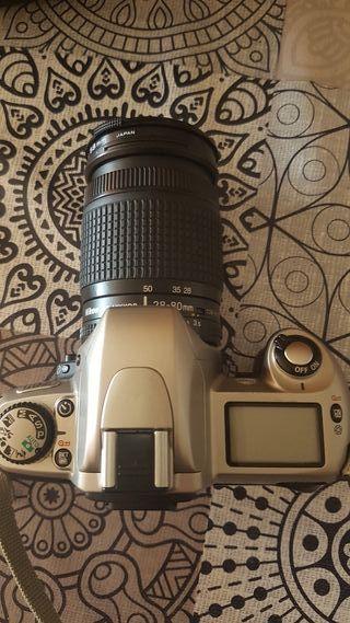 Maquina fotos Nikon F65