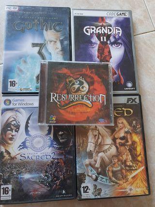 Pack Juegos para PC
