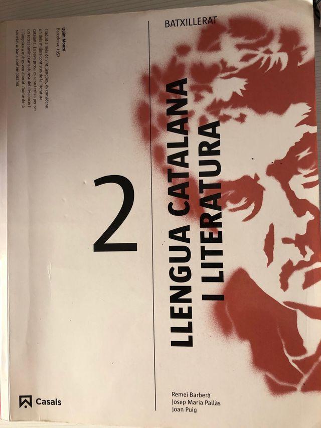 Libro de Catalán 2 De Bachiller