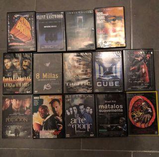 Lote de 14 películas en dvd