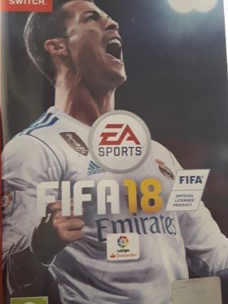 juego nintendo switch FIFA18