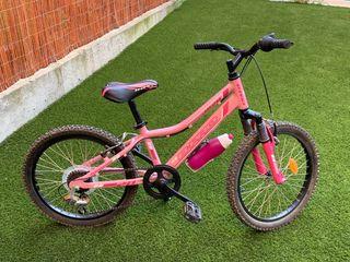"Bicicleta Mountain Bike niña 20"""