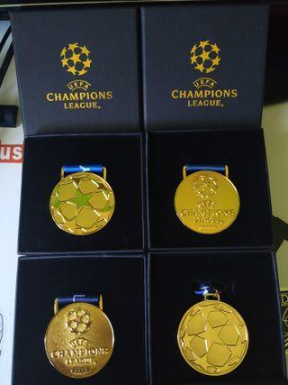 colección medallas REAL MADRID