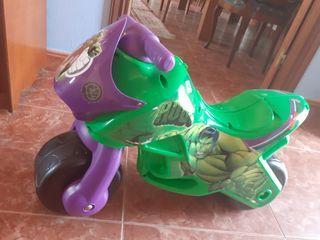 moto hulk...nueva