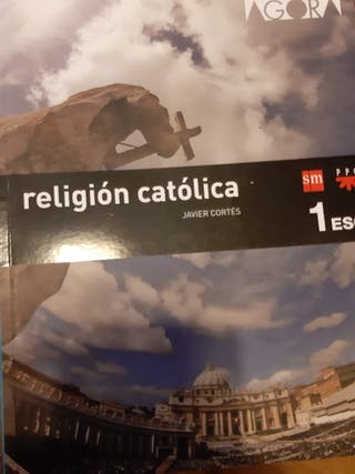libro religión católica primero eso Sm