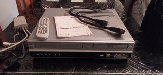 Reproductor y grabador DVD y VHS