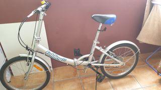 Bicicleta llanta 20 plegable