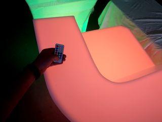 Barras de bar luminosas para terrazas
