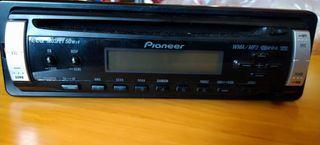 Radio cd extraíble para coche