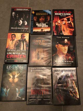 Lote de 9 películas