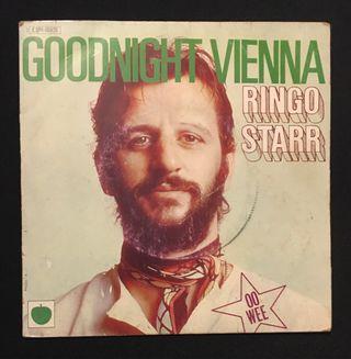 RINGO STARR : Goodnight Vienna Disco Vinilo Single