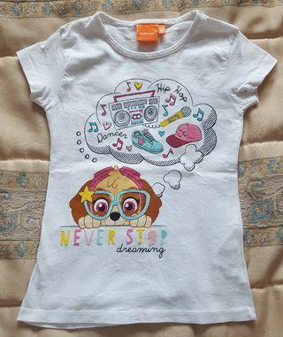 Camiseta Nickelodeon talla 5-6 (Nueva)