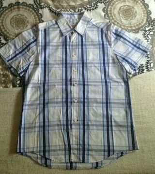Camisa manga corta Hombre, Pull & bear. Talla L