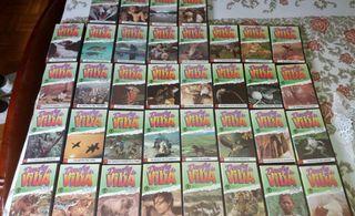Colección audio visual VHS Desafíos de la bida