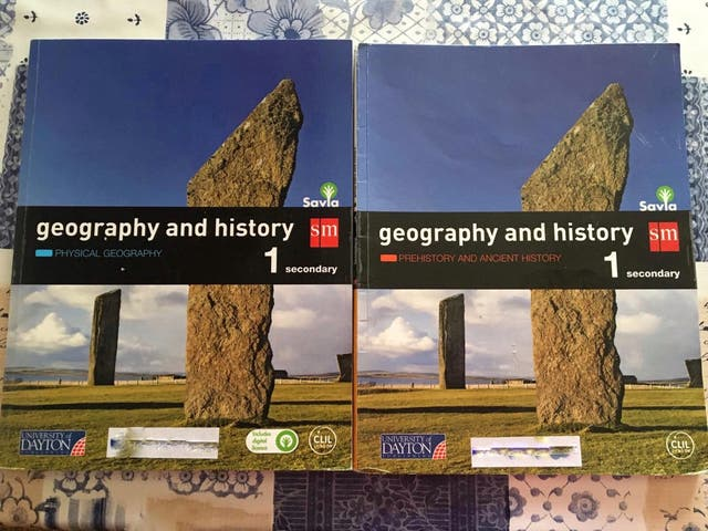 Geography and History -1 Secundaria- (bilingüe)