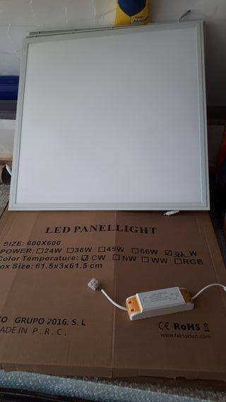 PANEL LED 60X60 42W - Color : 6000K BLANCO FRIO