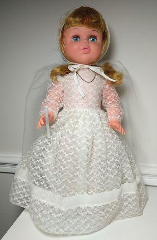 Muñeca de comunión Jesmar, años 70