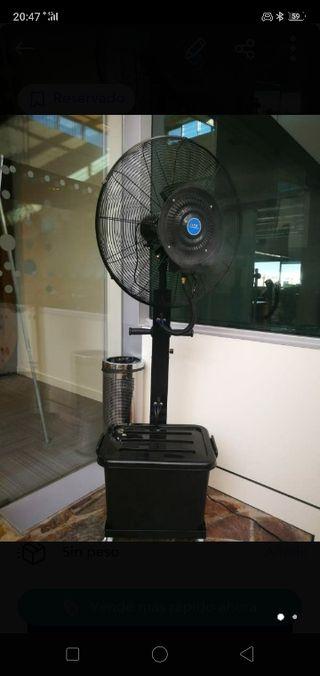 ventilador con nebulizador