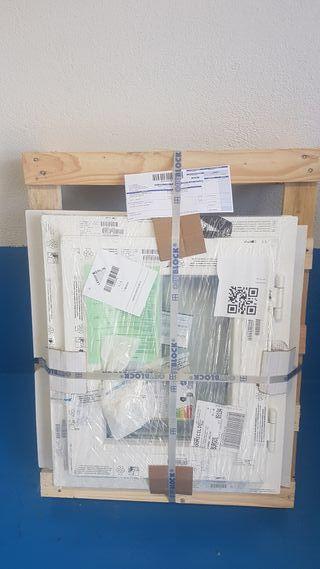 Ventana PVC oscilovatiente de 60x50