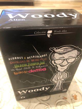 Pack Woody Allen 5 películas en DVD