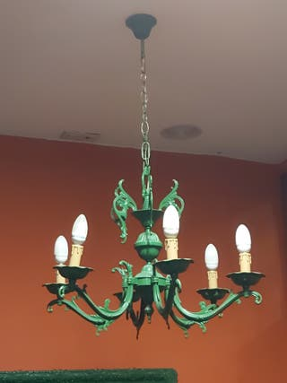 Vendo lampara colgante.
