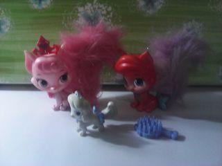 lote de 3 mascotas de las princesas disney