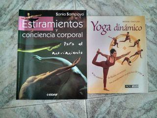 2 Libros de yoga